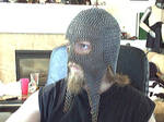 chainmaille coif,mask