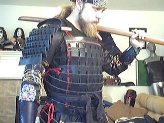 Leather Samurai armor by Tulloran