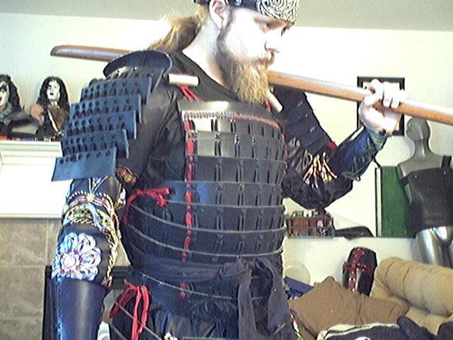 Leather Samurai Armor By Tulloran On Deviantart