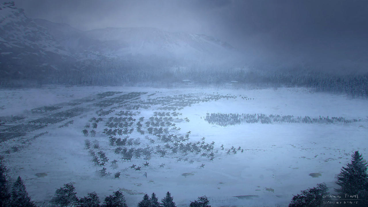 Game Of Thrones Stanis Fight Concept art