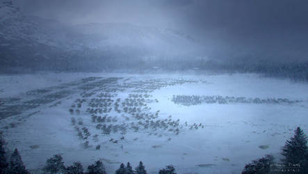 Game Of Thrones Stanis Fight Concept art by emanshiu