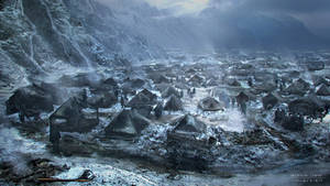 Stanis Camp for Game of Thrones