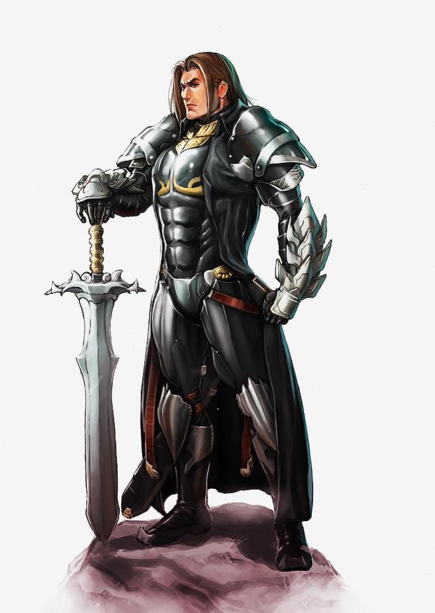 Lord Marshal Matthaus Williams by MaragrizX