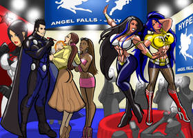 Ultra-Man goes to HYPERCON by MaragrizX