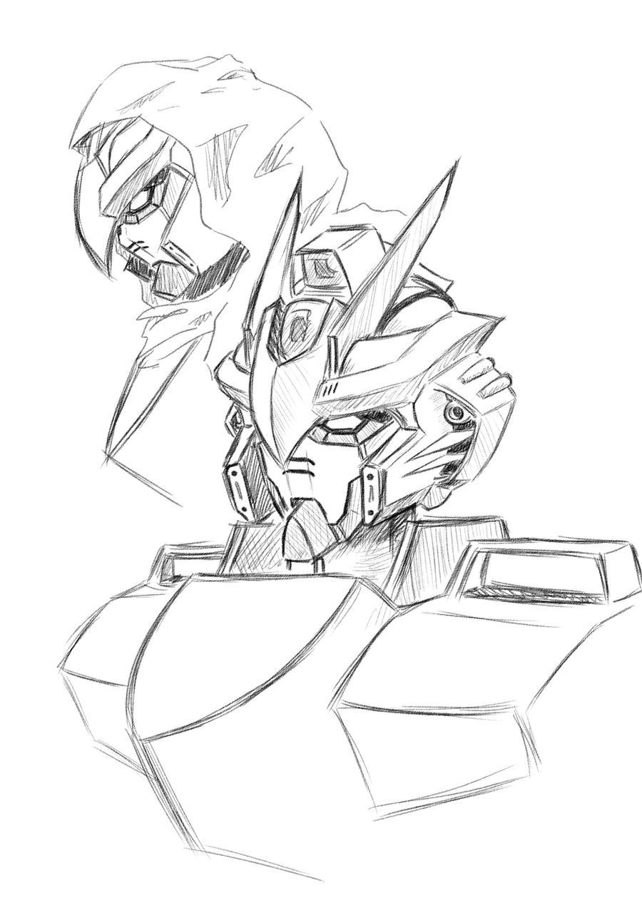 25 Gundam Head Sketch Pics Freepix