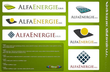 AlfaEnergie s.r.o. - logotypes by iFR3NK