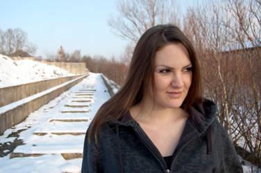 Portrait Kacenka by iFR3NK