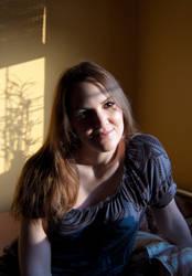 Portrait Kacenka 2 by iFR3NK