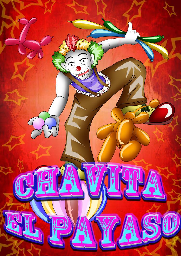 CHAVITA EL PAYASO by ZUNDREK