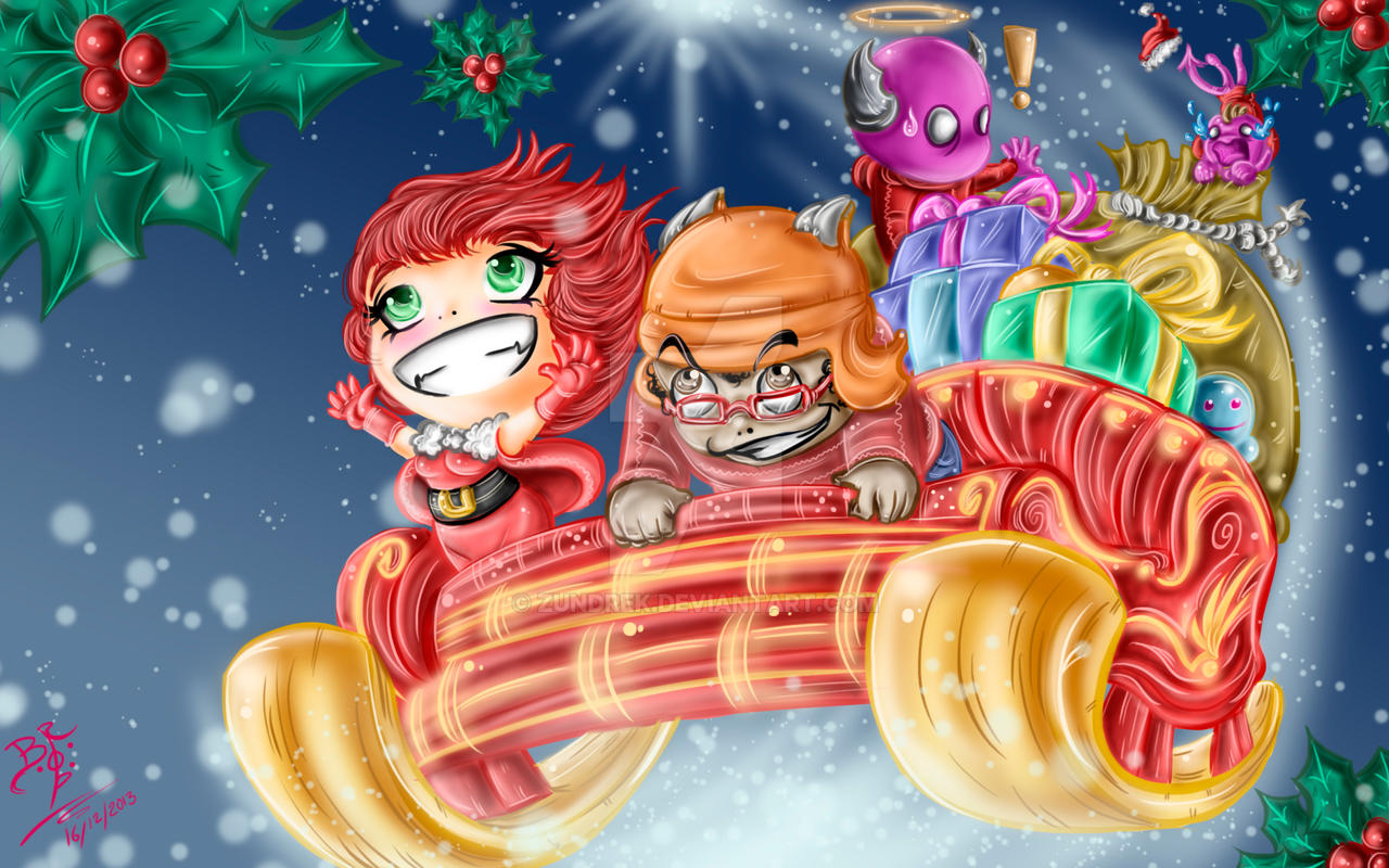 MERRY CHRISTMAS by ZUNDREK