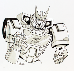 Inktober/Festival of Lost Light: Ratchet