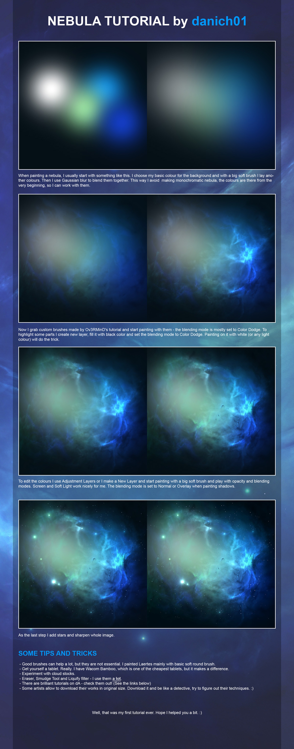 Nebula tutorial by danich01