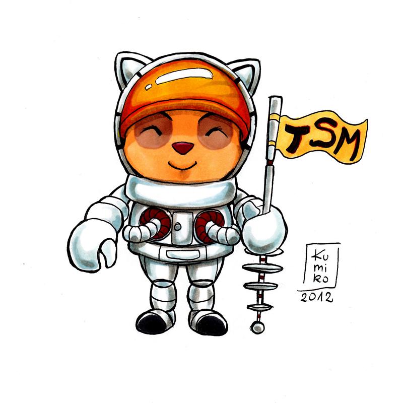 chibi astronaut - photo #27