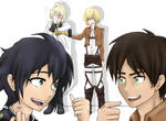Seraph of the end / Attack on titan crossover