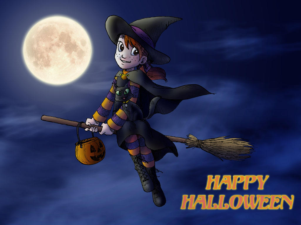 Halloween Wallpaper by queenbean3