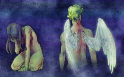 Colored-Eros and Psyche