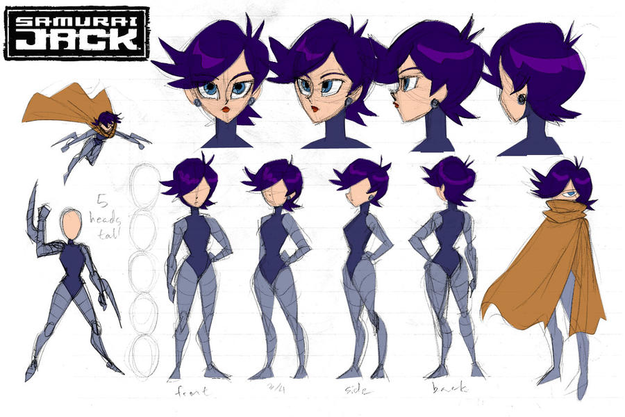 Gallery For gt Samurai Jack Female Characters