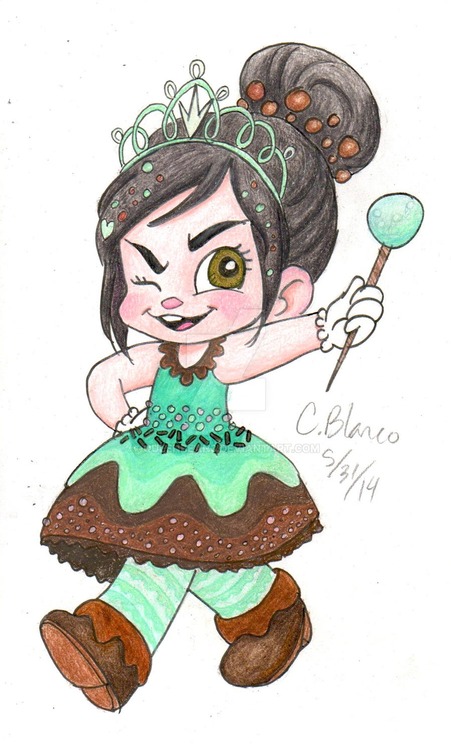 WIR-Mint Chocolate Princess by queenbean3