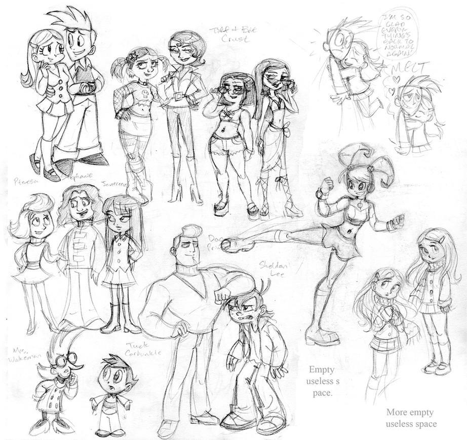 Cute Robot Doodles Oodles of Teen Robot Doodles