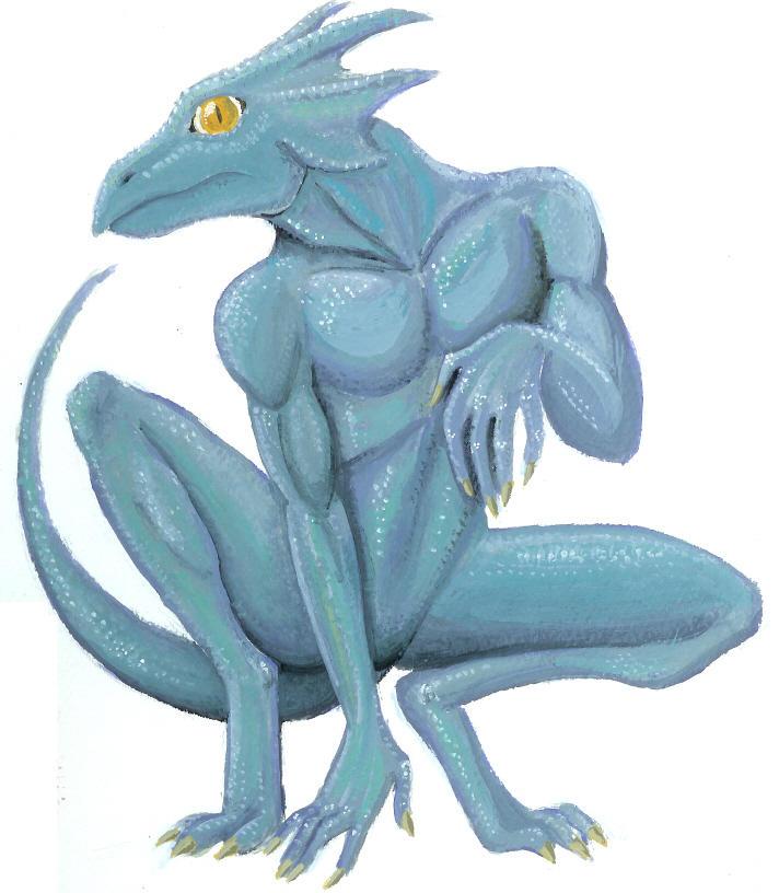 Lizard Man by queenbean3