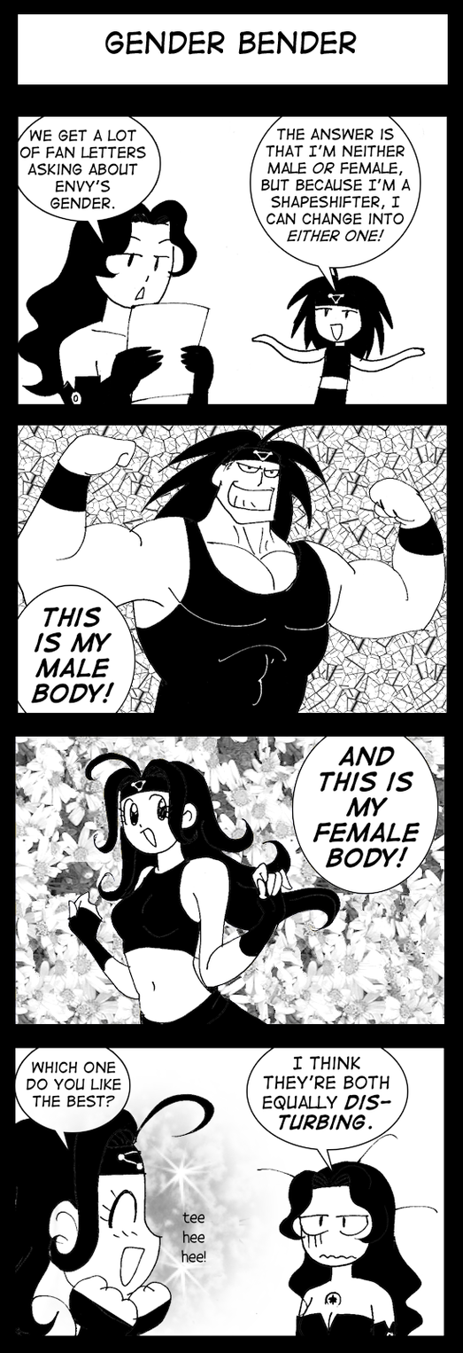 FMA-Gender Bender by queenbean3