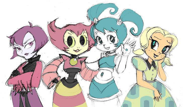 MLAATR-Teen Girl Squad by nanashi
