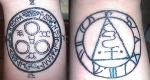 My New Wrist Tattoos