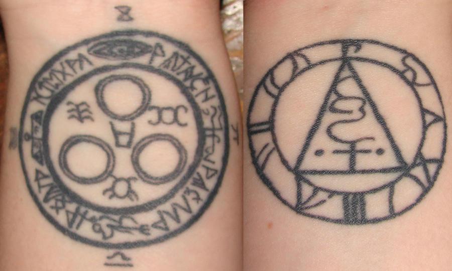 Healing Symbols Tattoos my Wrist Tattoos Healed by