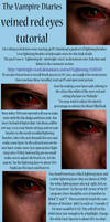 The Vampire Diaries Veined Eye Tutorial