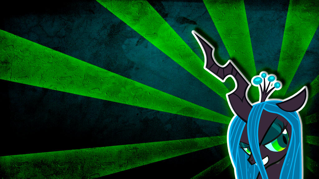 Queen Chrysalis Wallpaper by KennyKlent