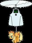 Jailbot and applejack
