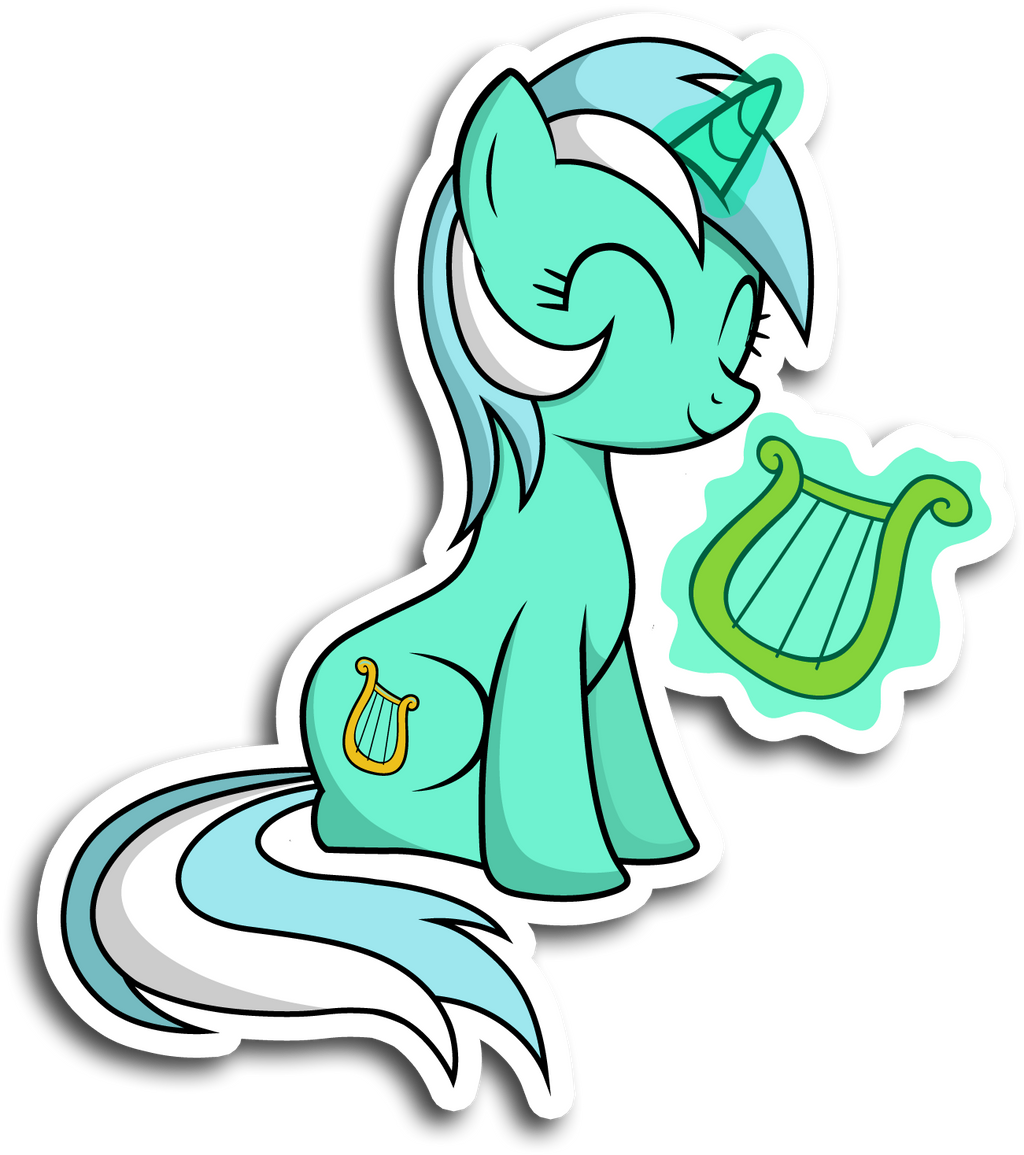 Lyra sticker by KennyKlent