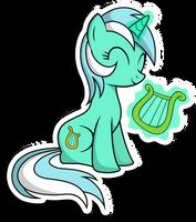 Lyra sticker by KennyKlent