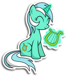 Lyra sticker
