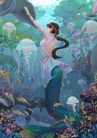 Mermaid by ShadowJWu