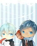 Aomine and Kuroko