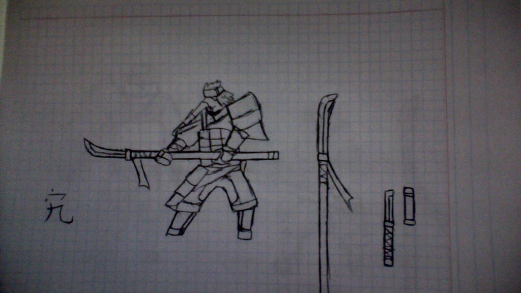 Naginata Spearman. by Fidmaster