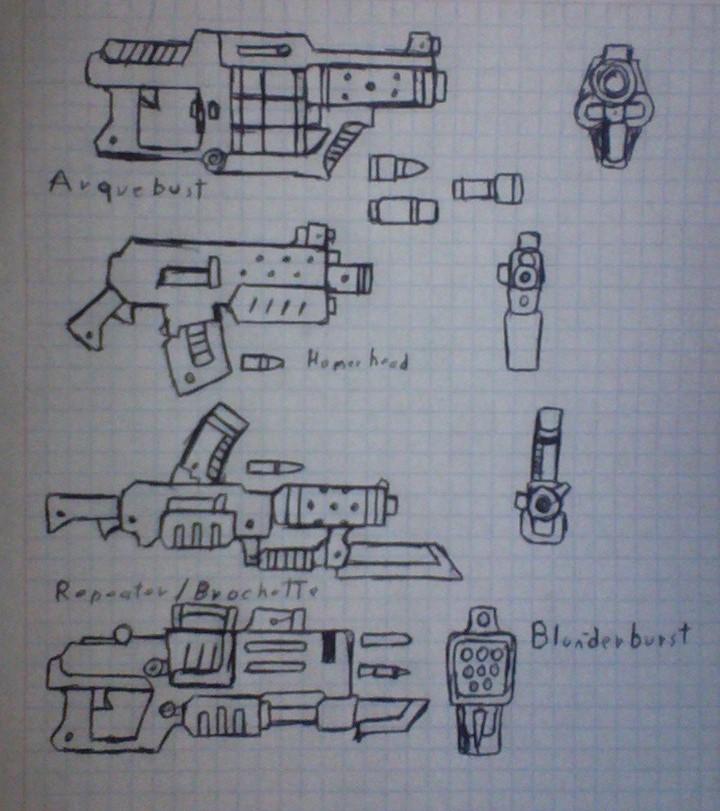 Mech Guns by Fidmaster