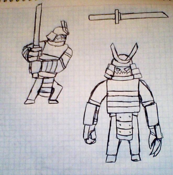 [ Sketch ] Not Shogun by Fidmaster