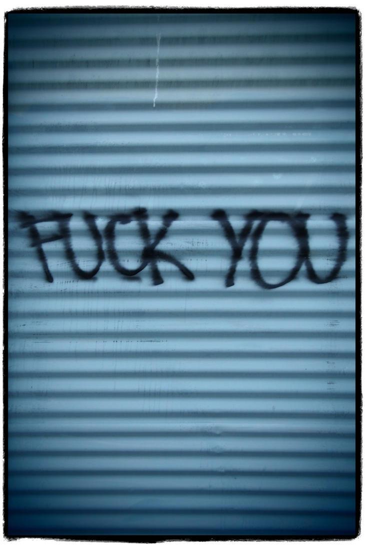 Fuck You by Thomayne