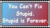 Stupid Stamp by FrightFox