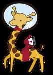 365 Day 219 Flying Giraffe
