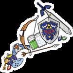 365 Day 343 Zelda Stickers
