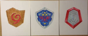 Weekly 23-52: Ocarina of time Shields