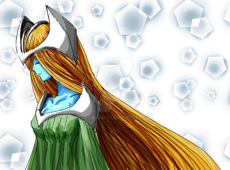 [Yu-gi-oh fanart] Mystical Elf by lythihaily
