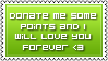 Donate Stamp Green by DesignQueen