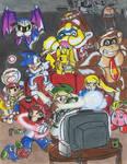 Super Smash Bros Brawl Party