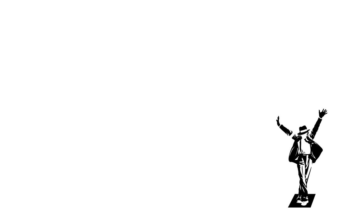 michael jackson silhouette by mubariz