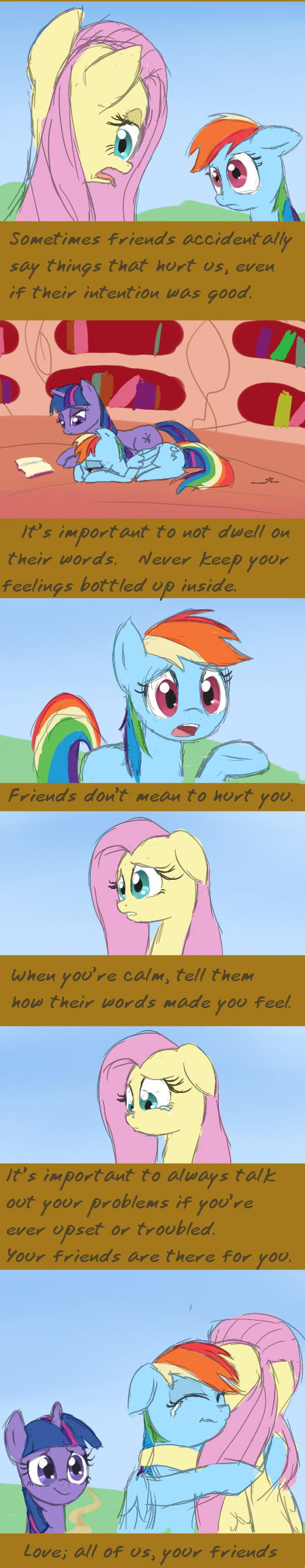 Sincerely, Everyone by CeleryPony