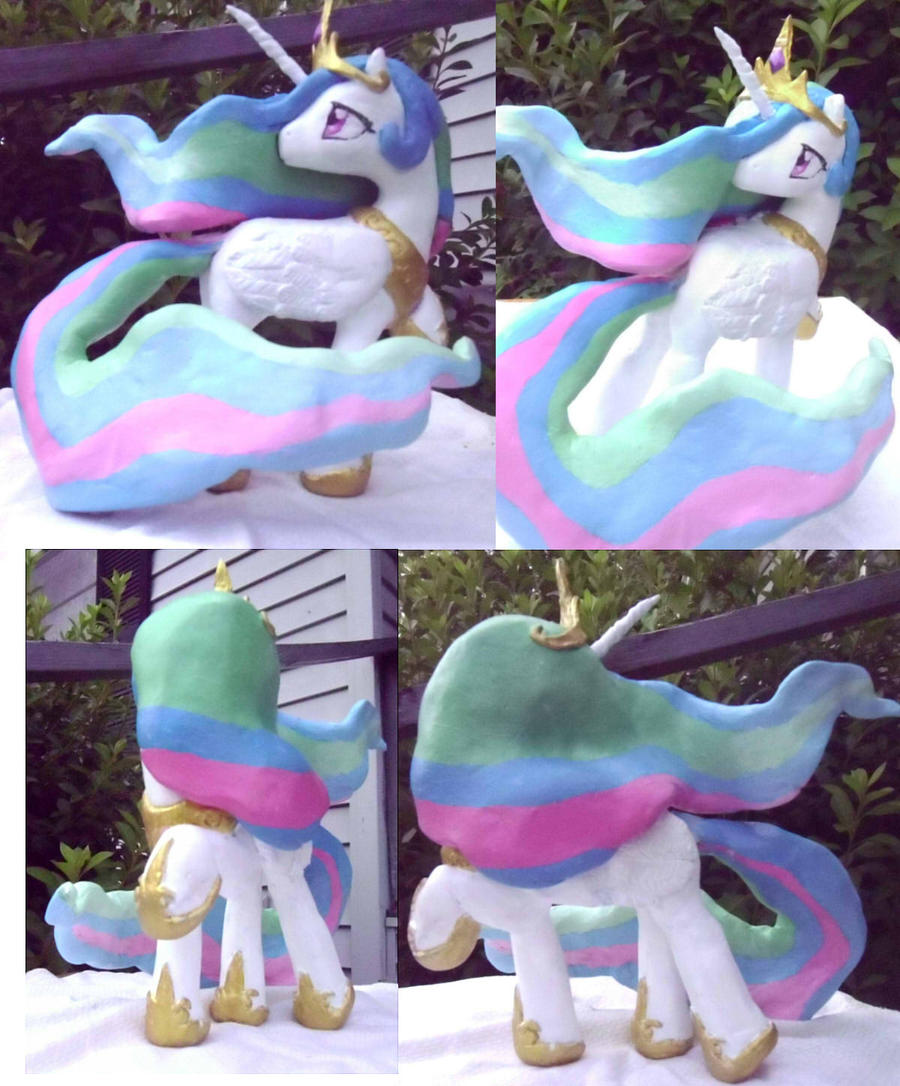 OOAK Celestia Sculpture FOR SALE by CeleryPony